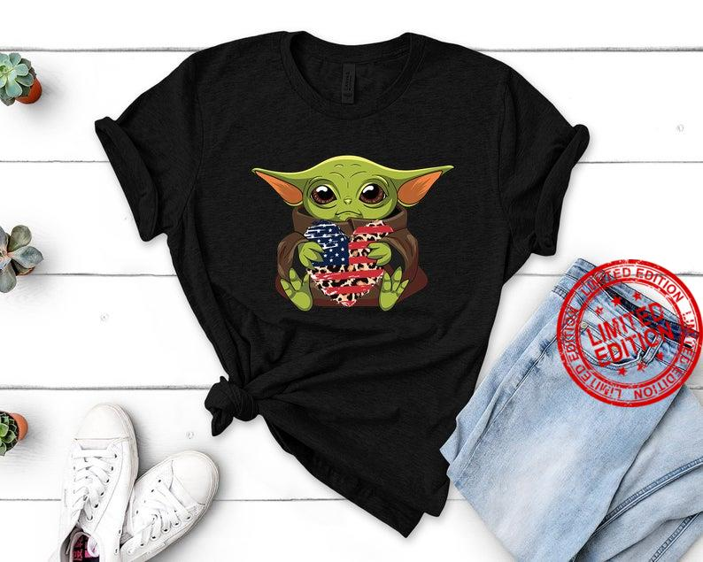 Baby Yoda 4th Of July Shirt