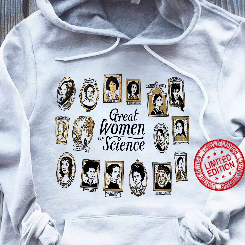 Great Women Of Science Shirt