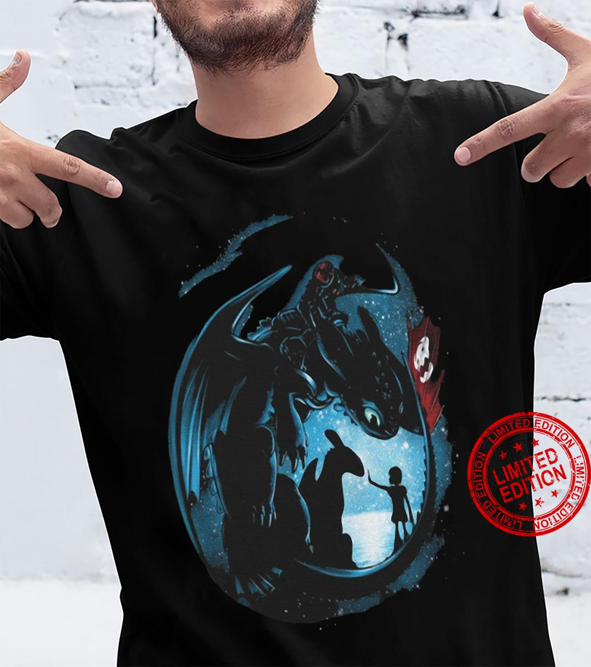How to Train Your Dragon Toothless Night Fury Shirt