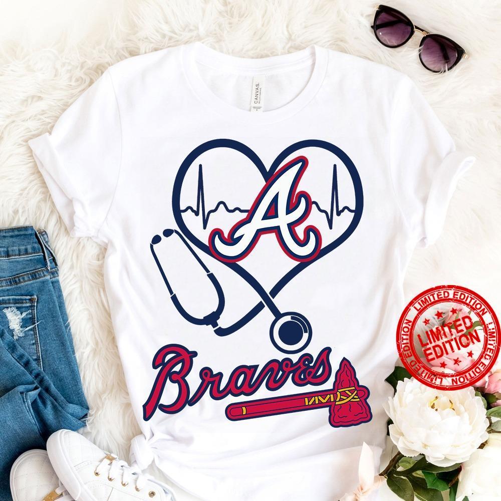 Majestic MLB Braves Adult Evolution Shirt