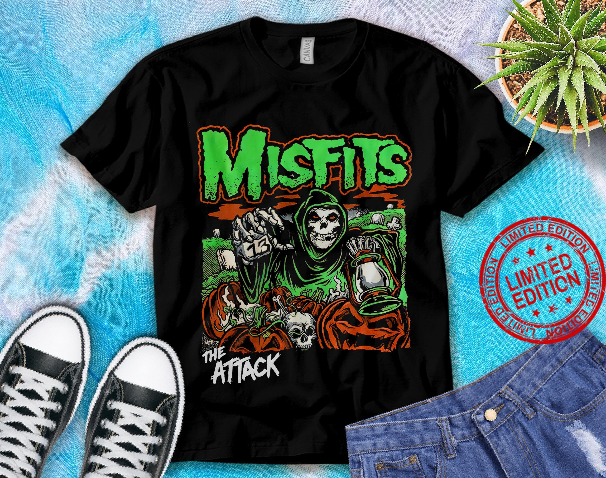 Misfits Rock Music Band The Attack Shirt