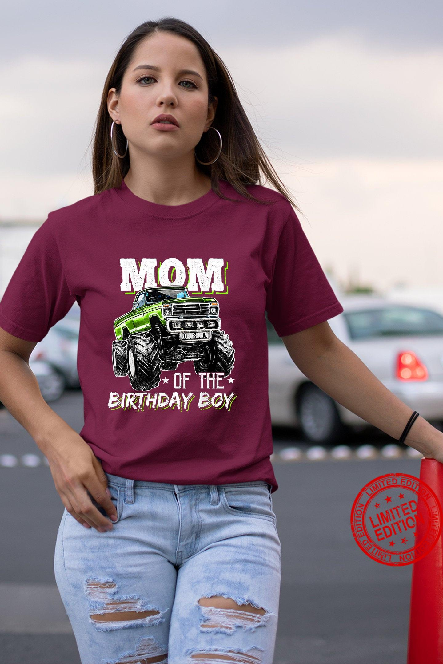 Mother Loves Truck Matching Mom Shirt