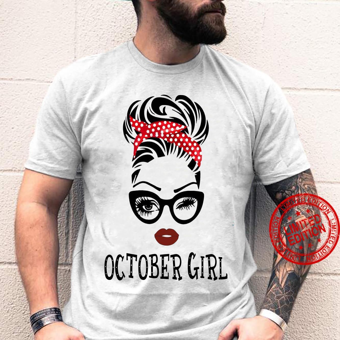 October girl shirt