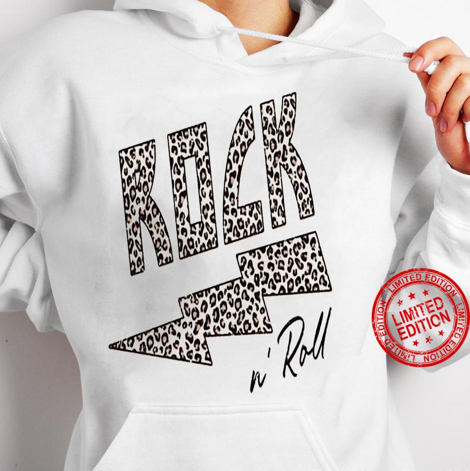 Rock N Roll Shirt hoodie