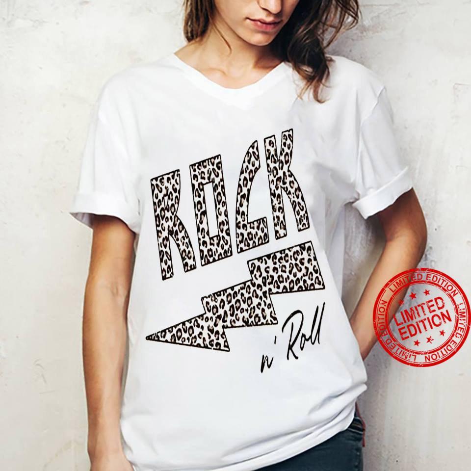 Rock N Roll Shirt ladies tee