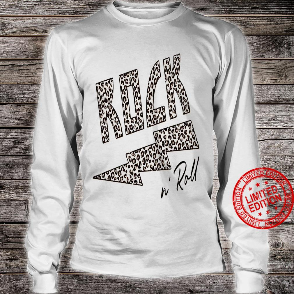 Rock N Roll Shirt long sleeved