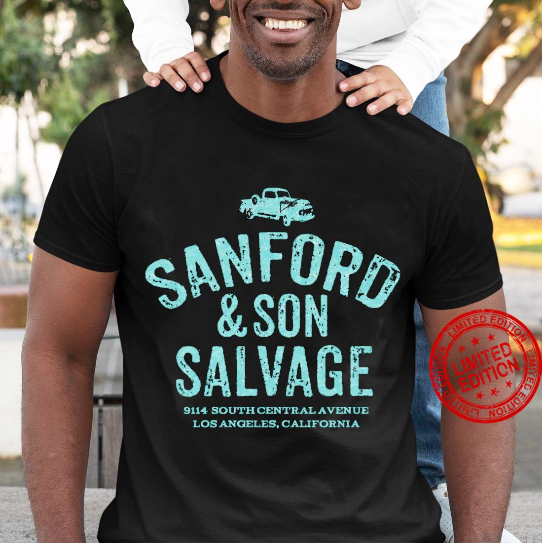 Sanford Son Salvage 914 South Central Avenue Los Angeles California Shirt