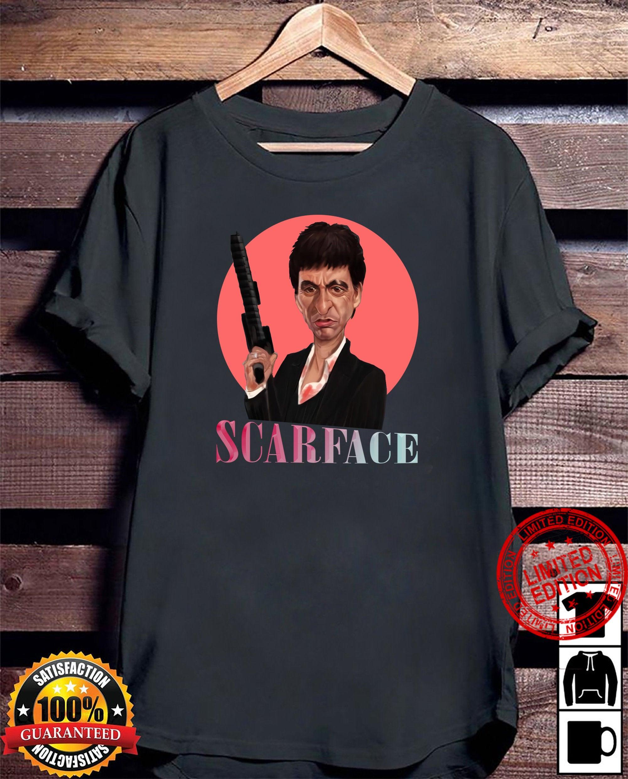 Scarface 80S Movies Scarface Movie Tee Funny Birthday Shirt