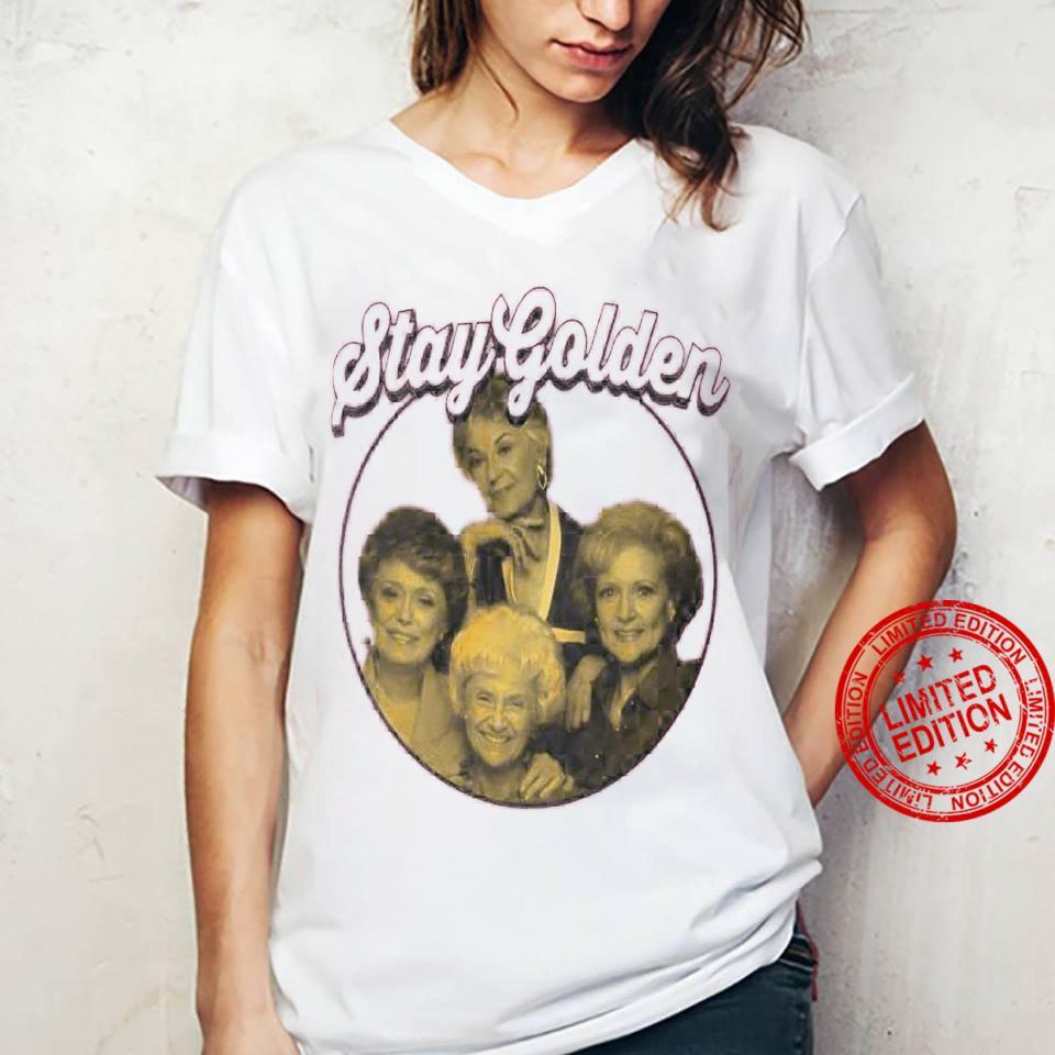 Stay Golden Shirt ladies tee
