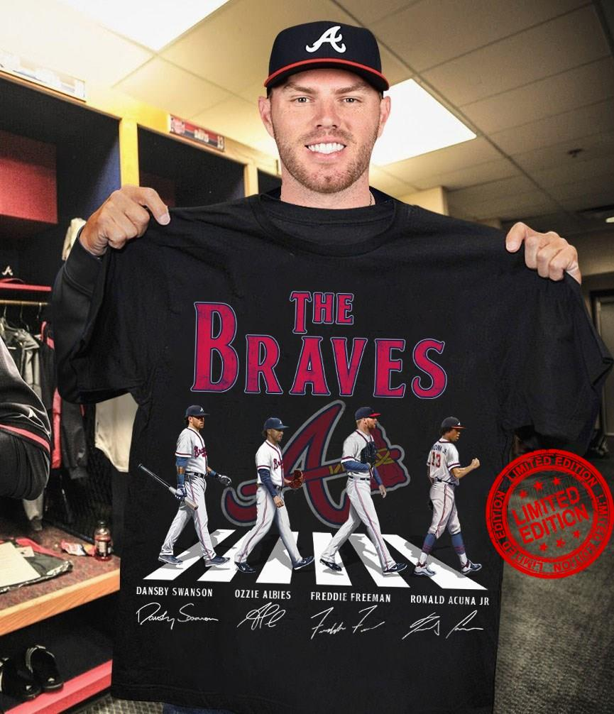 The Braves Abbey Road Signatures Shirt