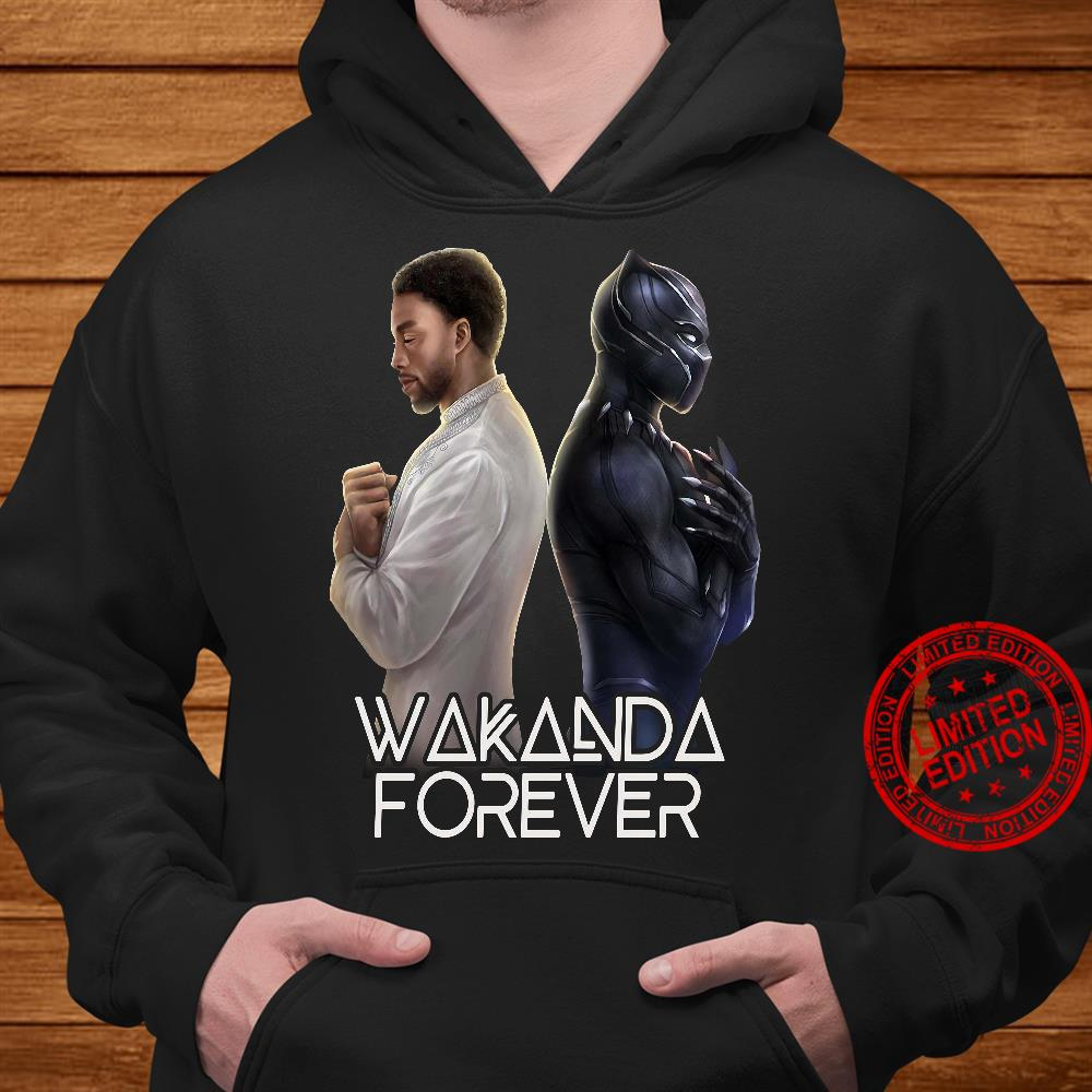 Wakanda Forever Chadwick Boseman Black Panther Shirt hoodie