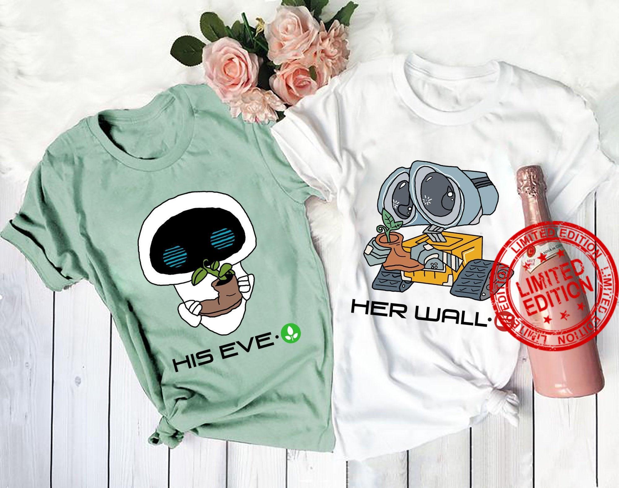 Wall-e Couple Shirt