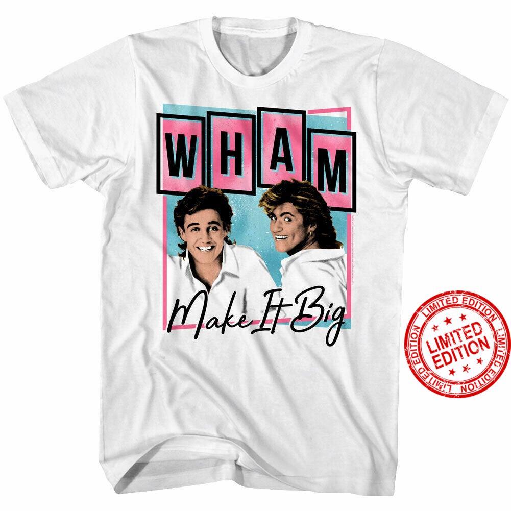 Wham Make it Big Pop Art Men's Shirt