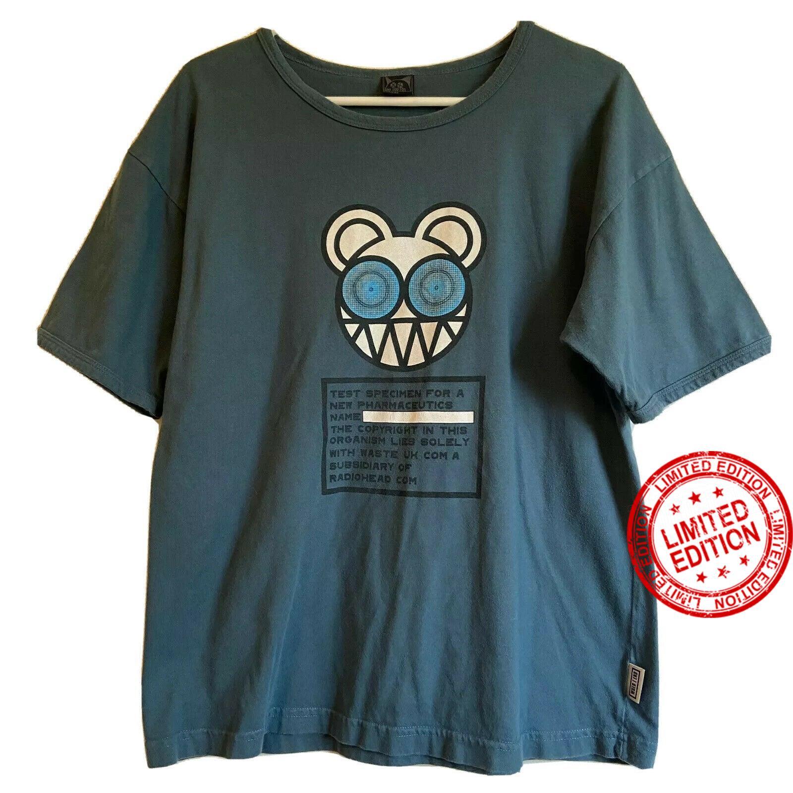 w.a.s.t.e. radiohead shirt