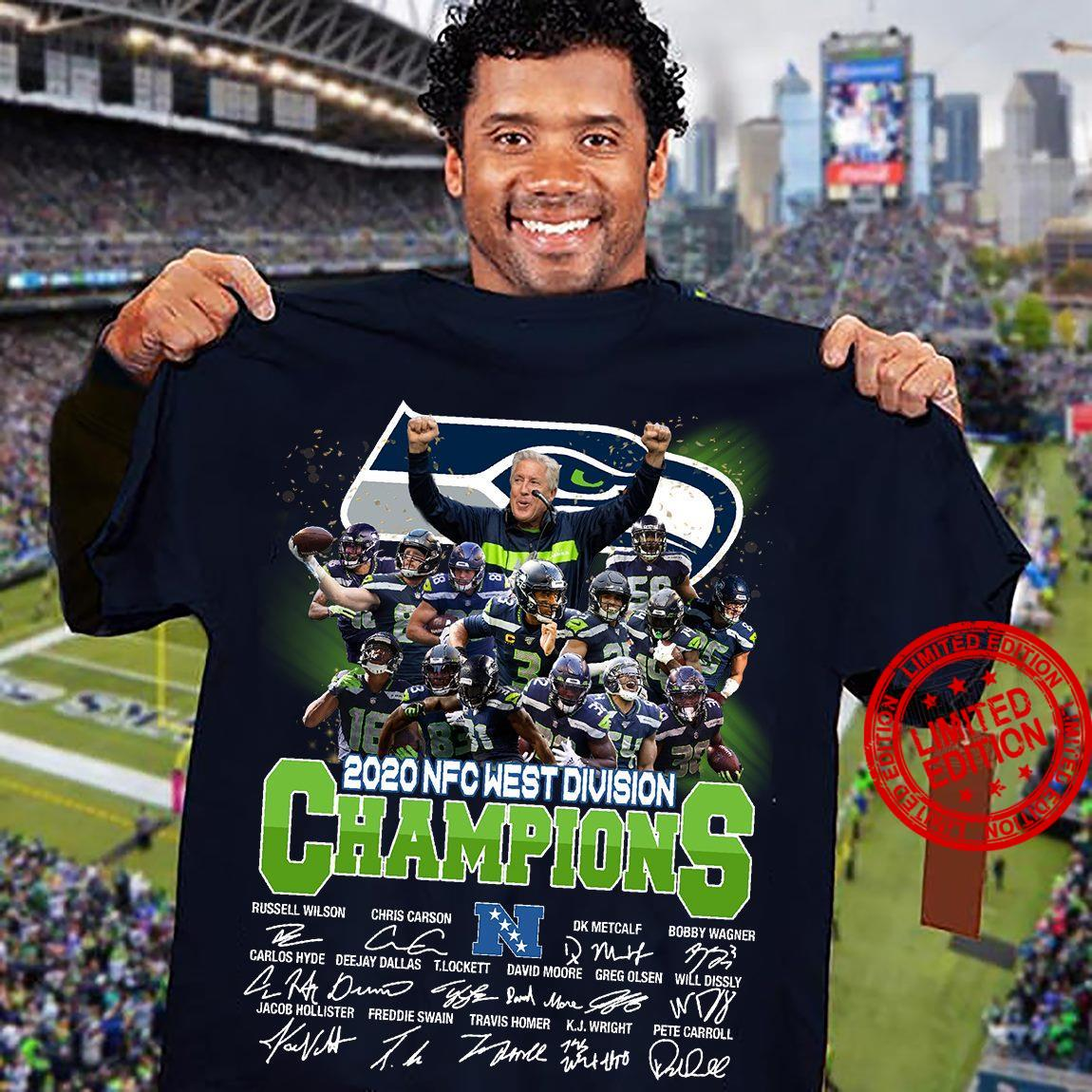 2020 NFC West Division Champions Shirt