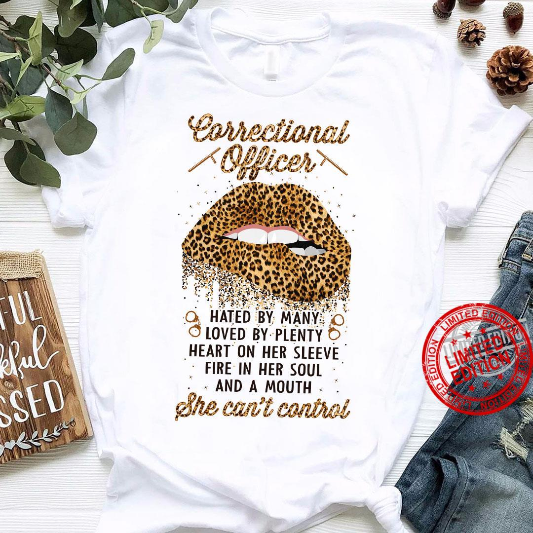 Correctional Officer She cant't Control Shirt