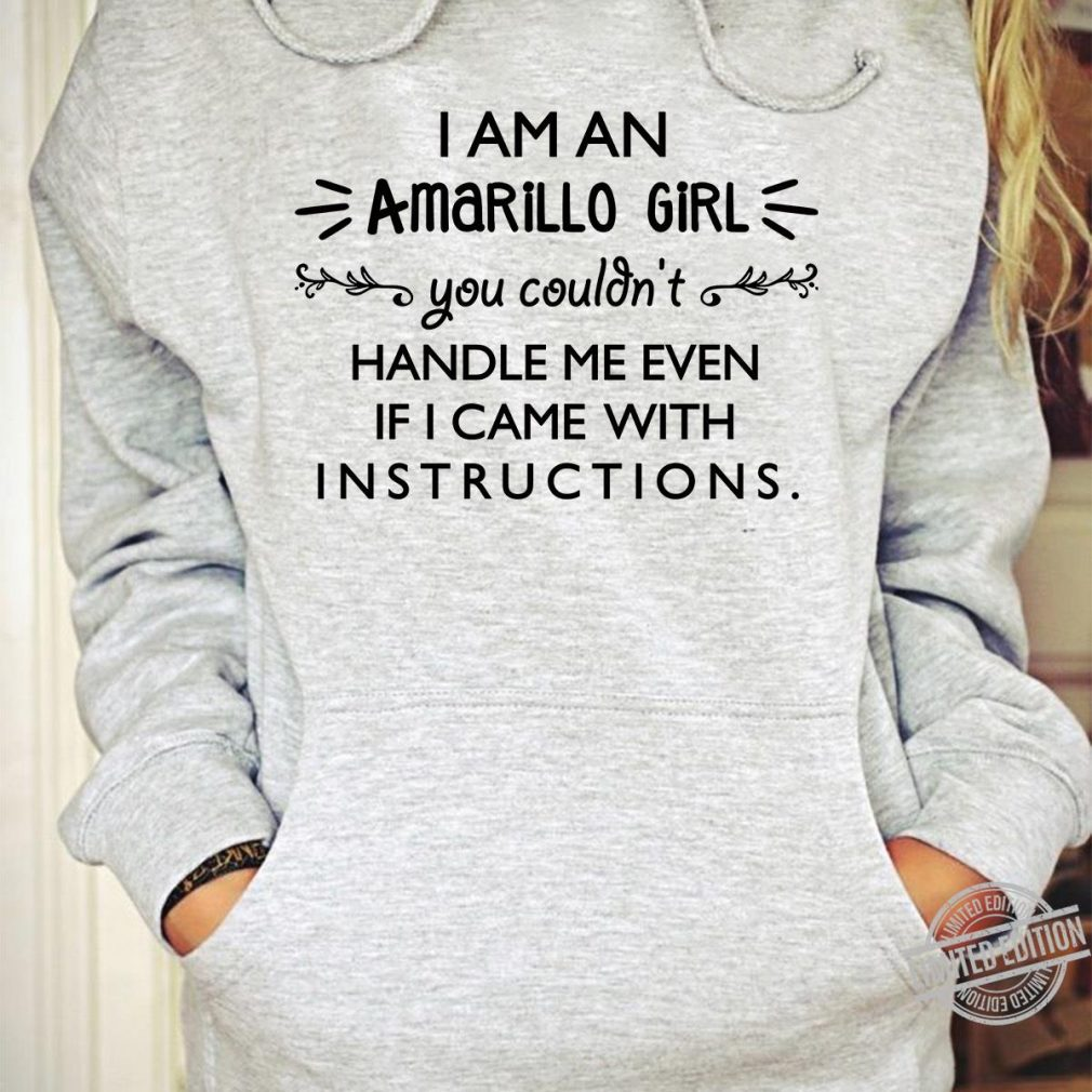 I Am An Amarillo Girl Shirt