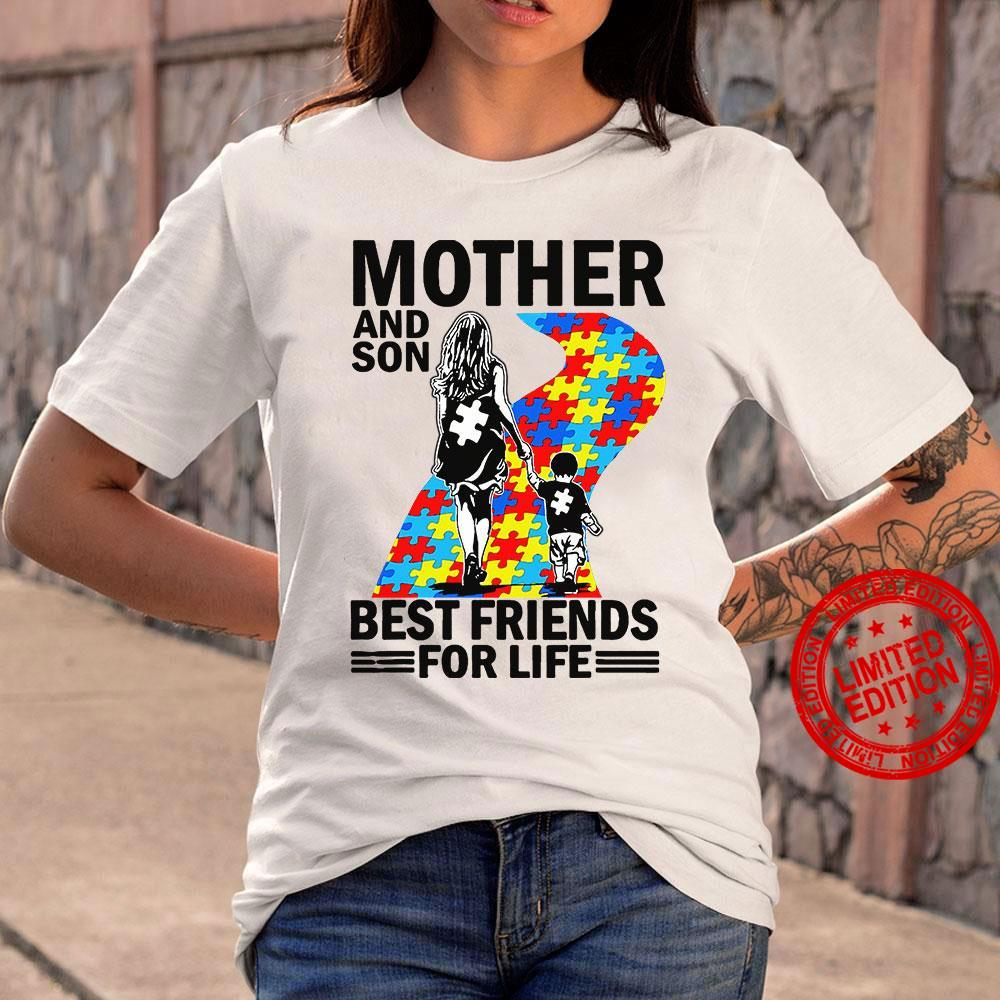 Mother And Son Best Friends For Life Shirt