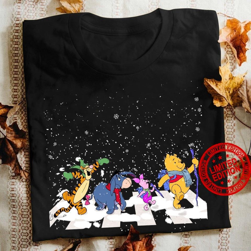 Pooh And Friends Abbey Road Shirt