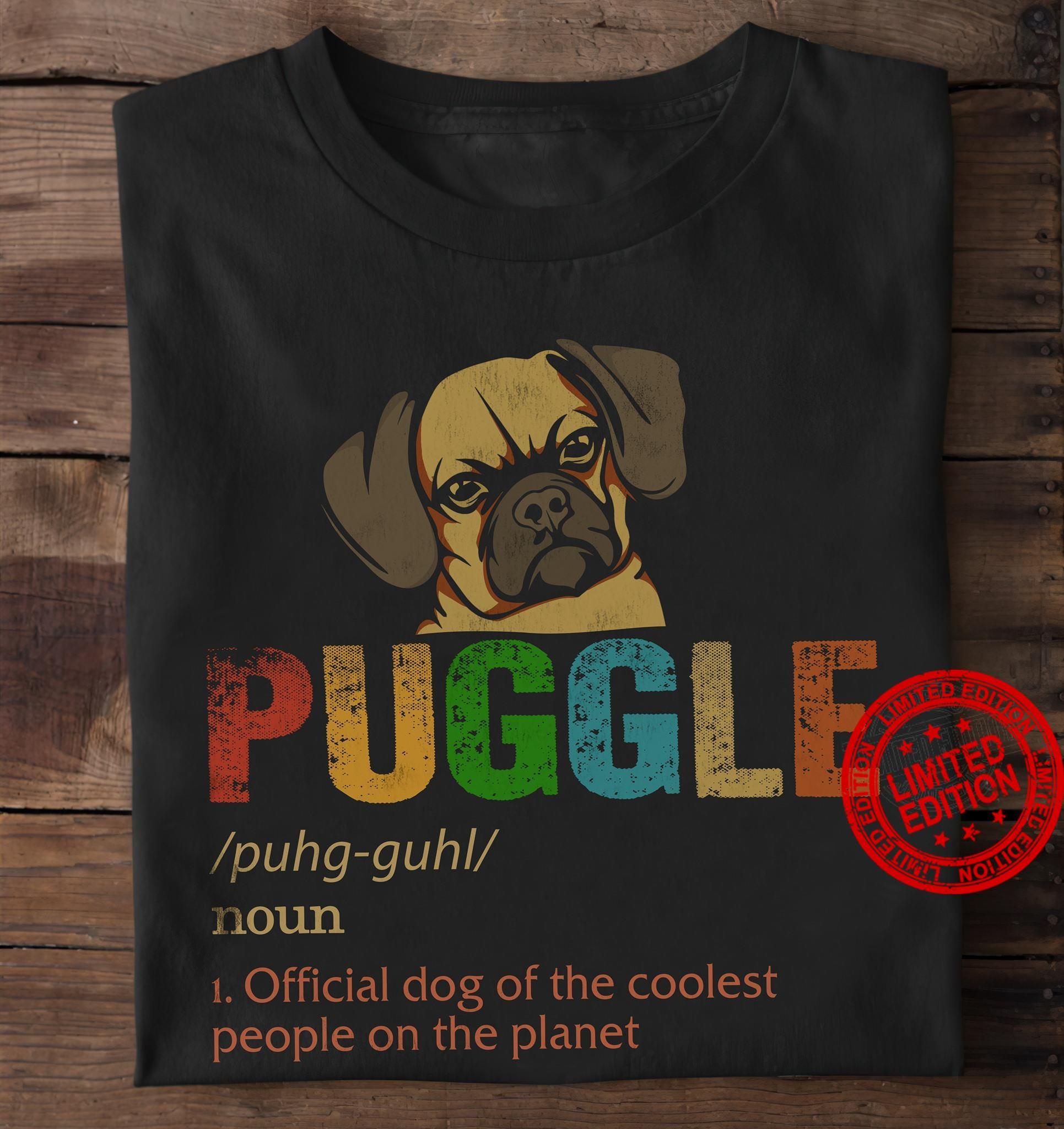 Puggle Official Cat Of The Coolest People On The Planet Shirt