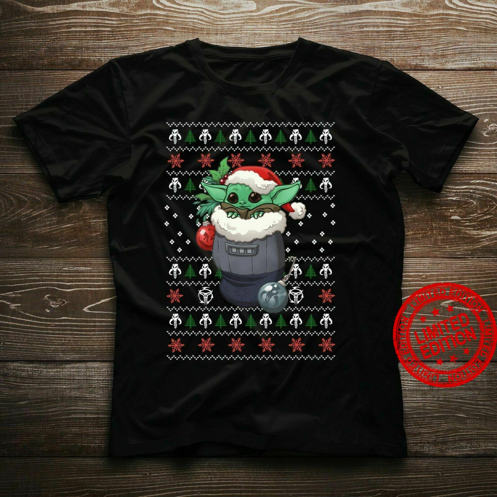 Santa Baby Yoda Merry Christmas Shirt