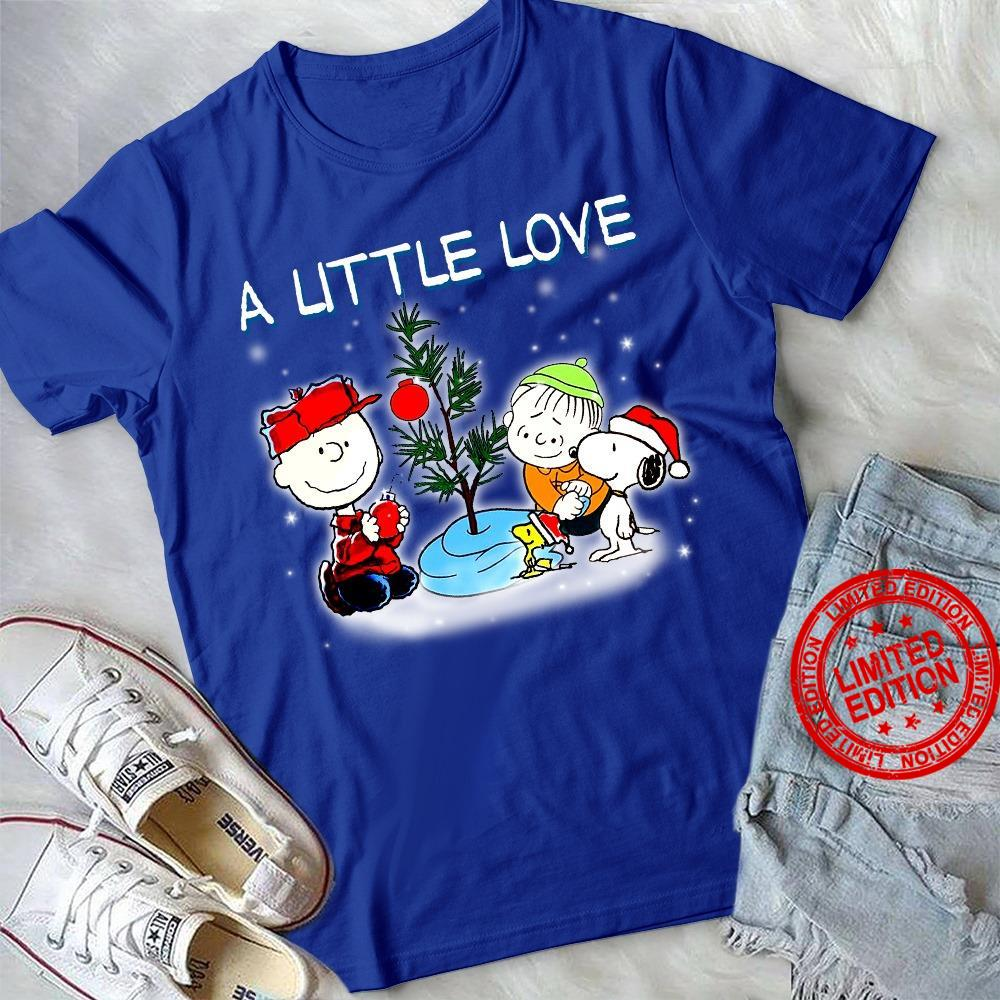 Snoopy And Charlie A Little Love Shirt