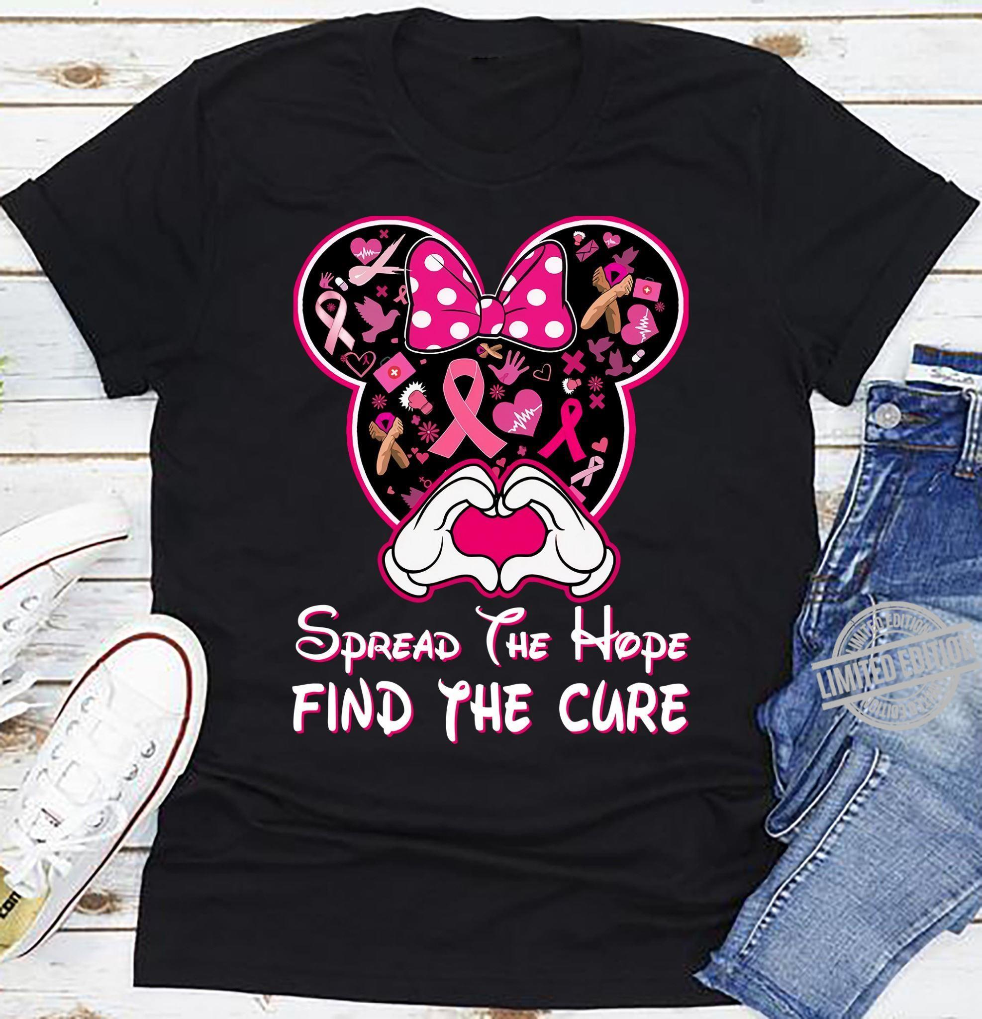 Spread The Hope Find The Cure Shirt