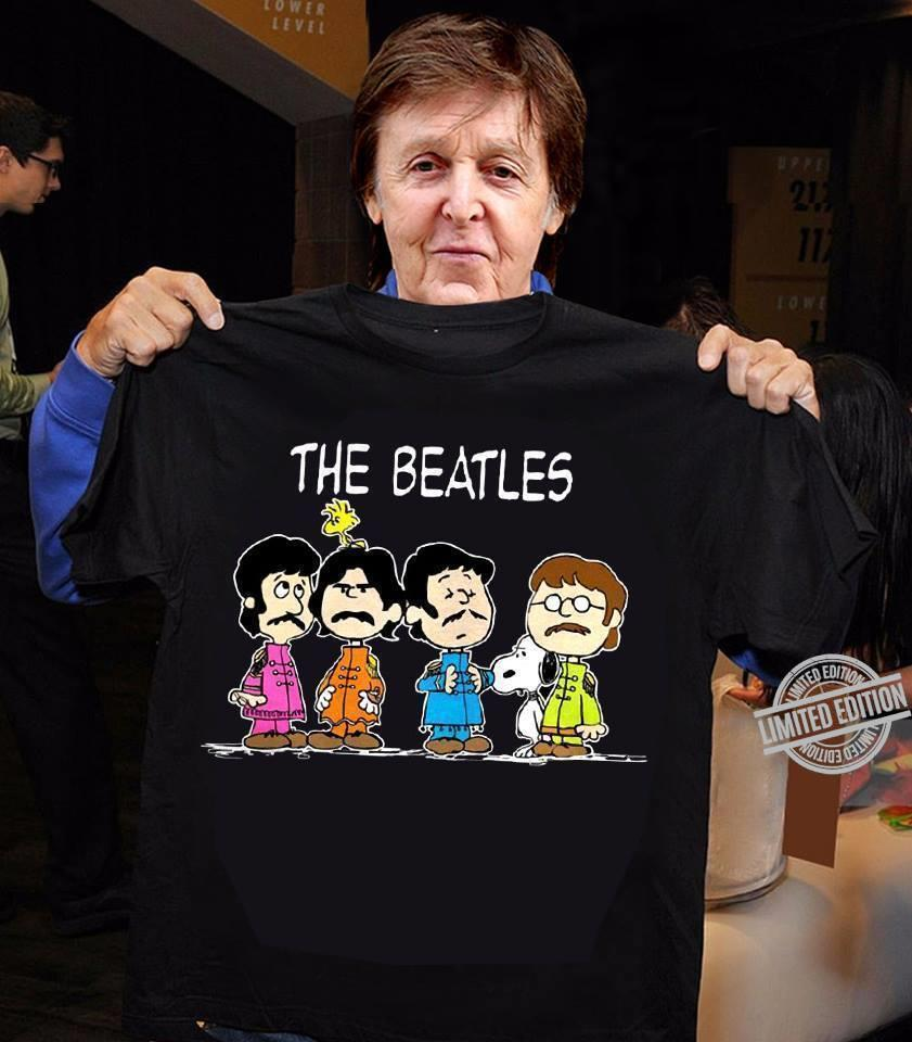 The Beatles Snoopy And Friend Shirt
