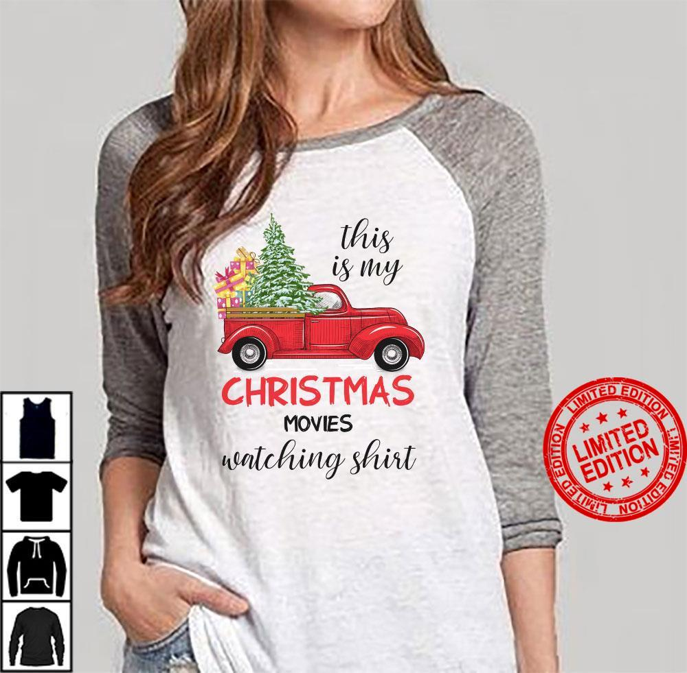This Is My Christmas Movies Watching Shirt Shirt
